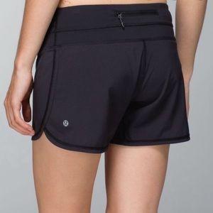 Lululemon Black Running Shorts 8